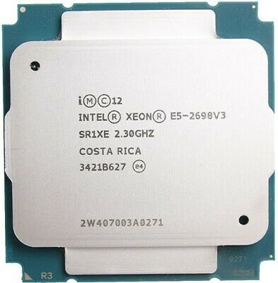 Intel Xeon E5 2698v3 16 Core 32 Thread Socket LGA 2011v3 CPU Processor • 249.95£