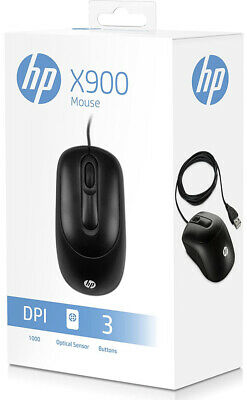 HP Business Office USB X900 Optical Mouse For PC/Computer/Laptop • 7.80£
