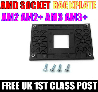 AMD Back Plate Socket AM2 AM2+ AM3+ CPU Fan Heatsink. 1ST CLASS POST • 3.99£