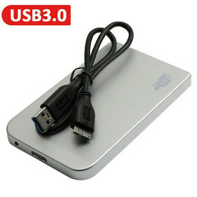 Portable 1TB USB3.0 External Hard Drive Disks HDD 2.5'' Fit For PC Laptop UK • 26.89£