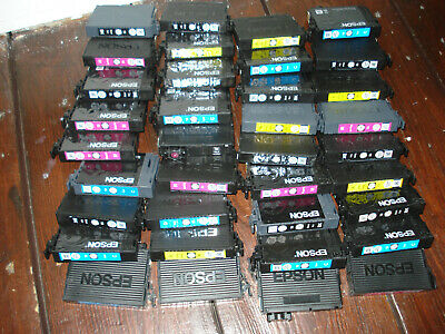 36 EMPTY USED EPSON 405xp INK CARTRIDGES FOR REFILLING • 15£