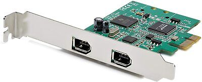Startech - Computer Parts 2 Port Pcie Firewire Card Ti Tsb82aa2 Chipset-win/mac • 39.54£