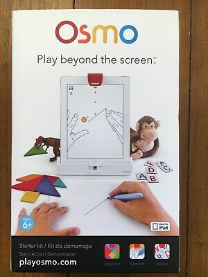 Osmo Play Beyond The Screen Starter Kit For IPad Tanagram, Newton, Words. • 25£