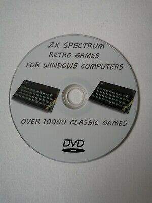 Zx Spectrum Games And Emulator On Dvd - Over 10000 • 3.49£