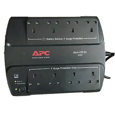 APC Back-UPS (400 VA) - Offline - Rack (19) (BE400-UK) UPS • 25.20£