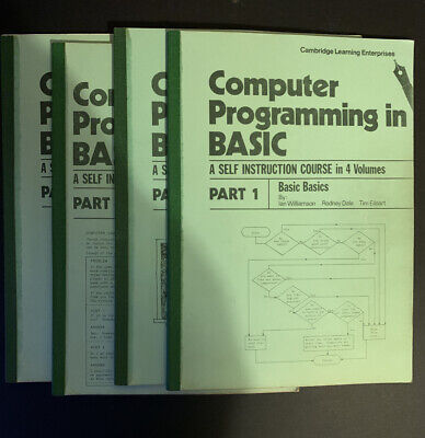 Computer Programming In BASIC Parts 1 - 4 Complete Cambridge Learning  • 9.99£