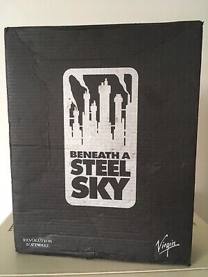Beneath A Steel Sky For Commodore Amiga - With Comic And Technical Manual • 26£