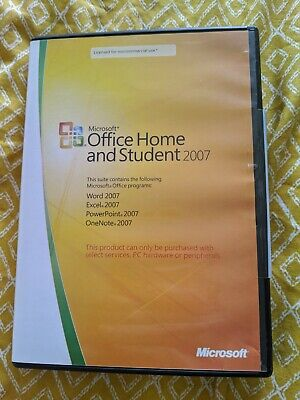 Microsoft Office Home And Student 2007 With Product Key  • 8.99£