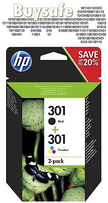 New HP Original 301 Combo Pack - Black And Colour Ink • 27.95£