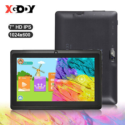 XGODY 16GB Android 8.1 Tablet PC 7 Inch Dual Cam WiFi Quad-Core Bluetooth 1.3GHz • 33.99£