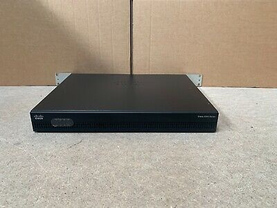Cisco Isr4321-b/k9 Router With Rack Ears Next Day Delivery  • 250£