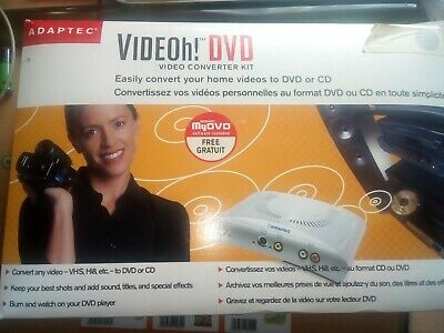 Adaptec Videoh! Dvd Converter Kit • 19.99£