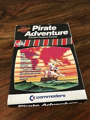 Vintage Commodore 16 Plus 4 Pirate Adventure Game Boxed & Manual Vgc Untested • 14.99£
