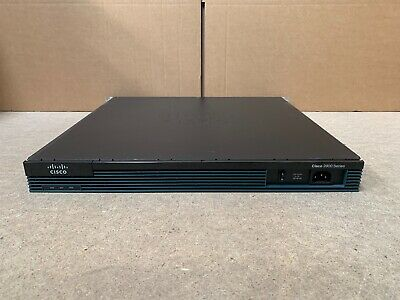 CISCO2901/K9 Router 2901 2900 With Rack Ears - Free Next Day Delivery UK • 45£