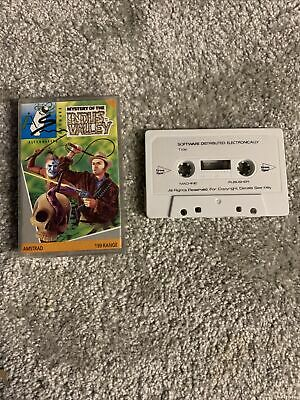 Amstrad CPC RARE Mystery Of The Indus Valley - Complete - Fully Tested • 8£