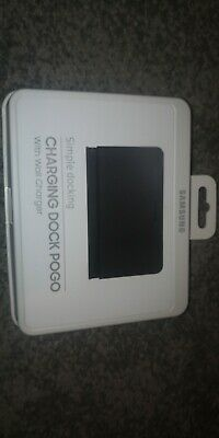 Samsung Dock Pogo  Upright Galaxy Charging  With   Wall Charger • 18£