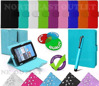 Universal Flip Case Fits LENOVO Tab M10 HD 10.1  Inch Tablet With Free Stylus • 5.49£