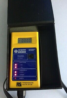 Seaward DR500 Disturbance Recorder Used Very Good Condition RS 621281 With Case • 15£