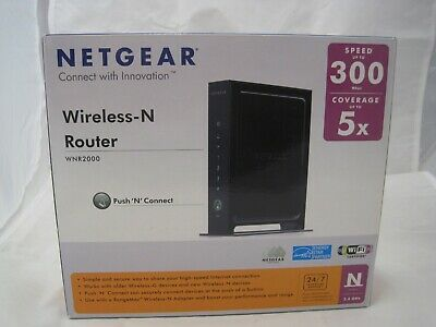 NETGEAR WNR2000 300 Mbps 10/100 Wireless N Router (WNR2000-100UKS) • 22.99£