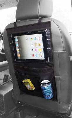 Simply Car Back Seat IPad Tablet Holder Organiser And Kids Tidy Organizer BLACK • 5.99£