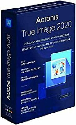 ACRONIS TRUE IMAGE 2020 - 3 DEVICE WINDOWS OR MAC - PERPETUAL LICENSE - Download • 38.99£