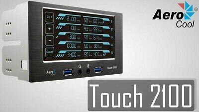 Aerocool Touch 2100 Fan Speed And Temperature Controller Display (RARE) • 39.99£
