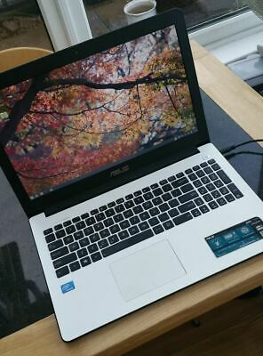 Asus X502c Notebook Laptop 15  Screen White With Linux • 240£