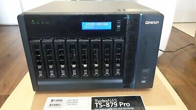 QNAP TS-879 Pro 8 Bay NAS 16GB RAM Intel Xeon E3-1245 3.3GHz 4 Cores 8 Threads • 850£