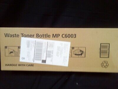 Genuine RIOCH Waste Toner Bottle MP C6003  (New And Sealed) • 40£
