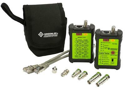 Network And Av Cable Tester,, Tester Type Network Ca For Greenlee Communications • 78.41£
