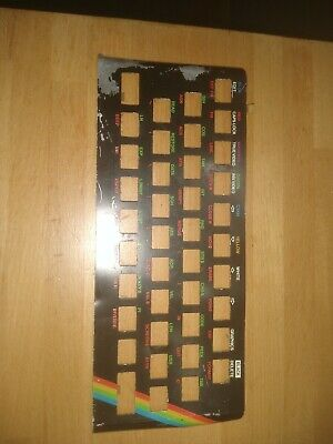 1 X ZX Spectrum 48k Keyboards Plate Cover • 0.99£
