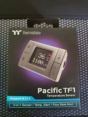Thermaltake Pacific TF1 Temperature And Flow Indicator • 44£