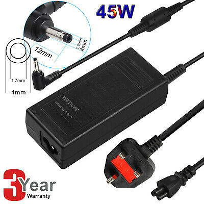 45W AC Adapter Charger For Lenovo IdeaPad 310 320 330 310 Laptop Power Supply CG • 10.99£