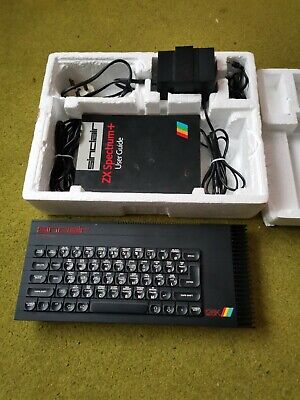 Vintage Sinclair Zx Spectrum + Computer  Tested Working Tv Monitor Not Included • 102£