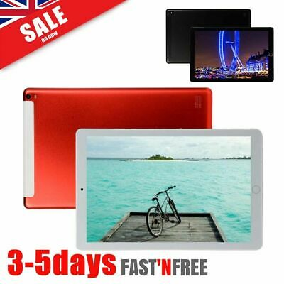 10.1 Inch Tablet PC Android 9.0 64GB 10 Core 4G WIFI Dual SIM Camera Phablet G* • 89.99£