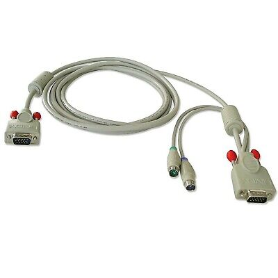 LINDY Combined KVM Cable For LINDY P16 / PXT & U Series KVM Switches 3m • 23.06£