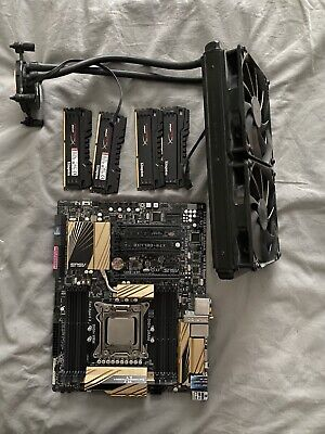 ASUS X79-Deluxe LGA2011 DDR3 Intel X79 Chipset 4 X PCI-E X16 Motherboard • 300£
