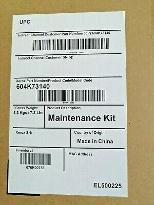 Genuine Xerox 604K73140 Maintenance Kit For 6700 - BNIB And Sealed • 200£