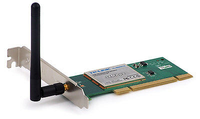 New TP-LINK TL-WN551G PCI 11b/g Wireless Wifi Card • 14.95£
