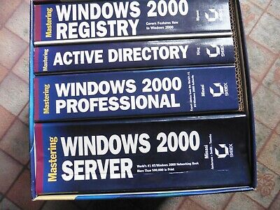 Mastering Windows 2000 COMPLETE GUIDE SET, By Mark Minasi's • 20£