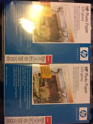 Hp Glossy Photo Paper A4, APPROX 190 Sheets • 10£