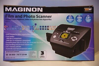 Maginon Film And Photo Scanner • 46£