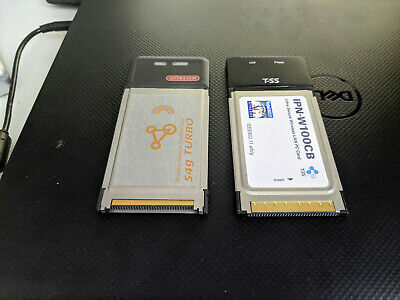 Two PCMCIA Wireless Cards (un-tested) • 0.99£
