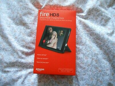 Amazon FIRE HD 8 Show Mode Charging Dock BRAND NEW AND SEALED • 23.60£