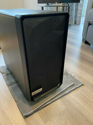 Fractal Design Meshify 2 Black Mid Tower PC Gaming Case - Solid Panels - UNUSED • 41£