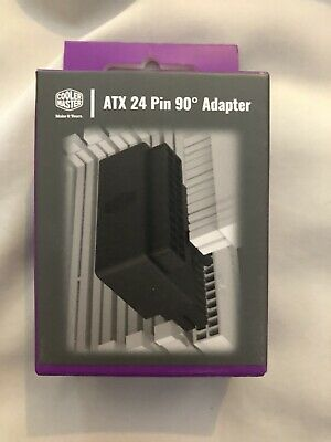 Coolermaster ATX 24 Pin 90 Degree - Right-Angle Adapter • 10£