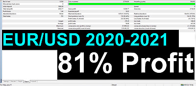 Fully Automated Forex EA Robot - Breakout - UK Spread Betting Account Optimised • 1,000£