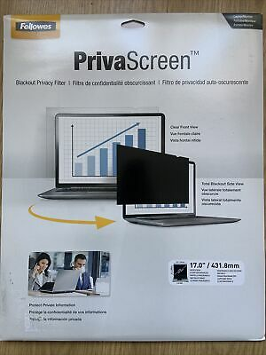 """Fellowes Blackout Privacy Filter - 17.0"""" • 15£"""