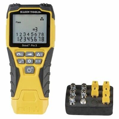 Klein Tools VDV501-851 Scout Pro 3 Verifier With Protective Case, Location UK. • 99£