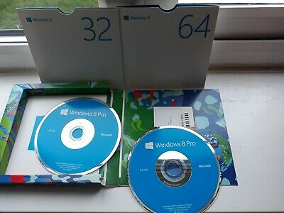 Windows 8 Pro  64 And 32 Bit Version Discs ( Upgrade Edition ) • 45£